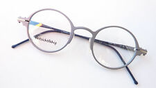 Round Glasses Frames Silver Grey Light Individually 44-24 WIDTH: M-L