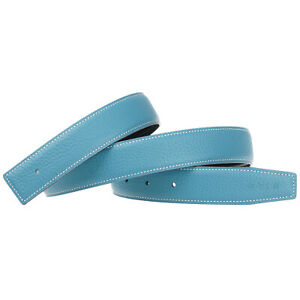 32mm/38mm Replacement Belt Strap Reversible Genuine Leather Belt
