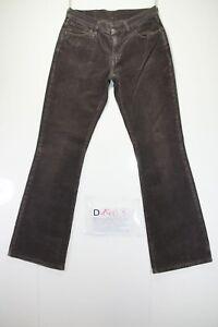 Levis 529 (Code D1463) Tg.44 W30 L34 Jeans Utilisé en Velours Vintage Violet