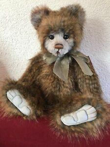 CHARLIE BEARS Plüschbär Nick Höhe ca. 48cm limitiert 3.000 Stück   NEU