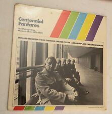 LP, Centennial Fanfares - Leonard Bernstein Virgil Thomson Walter Piston..SEALED
