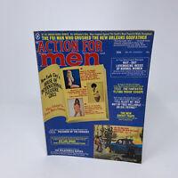 Action for Men Magazine Vintage 1973 Mens Interest
