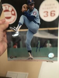 LEE SMITH-CHICAGO CUBS-MLB Hologram  Autographed/Signed 8x10 Photo
