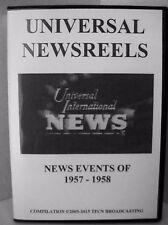 UNIVERSAL NEWSREELS 1957 - 1958 (DVD)