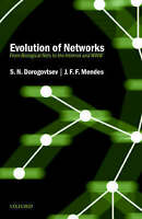Evolution of Networks: From Biological Nets to the Internet and WWW (Physics) b