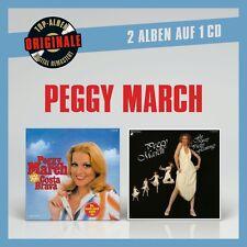 PEGGY MARCH - ORIGINALE 2AUF1: COSTA BRAVA/FLY AWAY PRETTY FLAM.   CD NEU