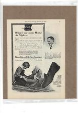 DEC 22 1917 LITERARY DIGEST DANIEL GREEN FELT SHOE CO SLIPPERS AD PRINT K494