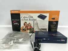 Linksys Home & Small Office Cable/Dsl 4 Port Router