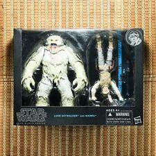 Hasbro Star Wars Black Series Luke Skywalker and Wampa Deluxe Action Figure Set