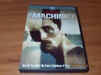 The Machinist (DVD, 2005, Widescreen) Christian Bale