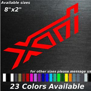 XTI custom decal sticker subaru forester turbo 2.5l Ej257