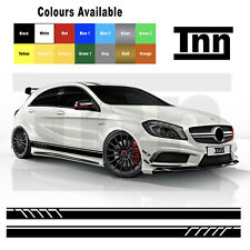 Mercedes Benz Edition 1 Side Stripe Graphics Stickers W176 A C Class AMG A45