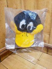 Rare 1989 NWT VTG Daffy Duck Arby's Topper Snapback Hat Warner Bros Looney Tunes