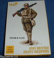 Hat 8177 WW1 british heavy weapons-échelle 1/72 en plastique