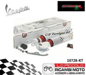 Set Shock Absorbers Bianchi Front Rear Vespa Px 150 Adjustable CARBONE