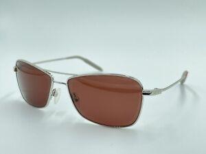 Mosley Tribes Aviatrix S Sunglasses Silver/Purple VFX Polarized DAMAGED LENSES