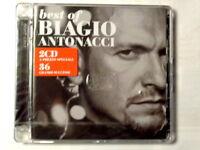 BEST OF BIAGIO ANTONACCI  -  1989 / 2000  -  2 CD 2008  NUOVO E SIGILLATO