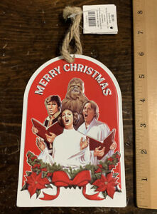 Star Wars Christmas Ornament Metal Han Luke Leia Chewbacca Open Roads Brand New