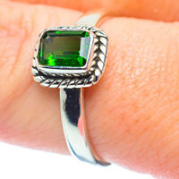 Chrome Diopside 925 Sterling Silver Ring Size 8.75 Ana Co Jewelry R35322F