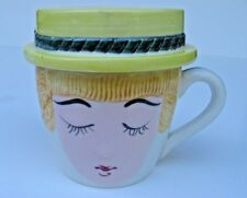 RARE Vintage Coffee Cup Ashtray Set For Mom ONLY!