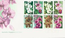 1998 Australia - Orchids Joint Issue with Singapore Fdc - Fdi Townsville 4810