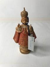 """Fontanini by Roman - Jesus 1985 5"""" signed 355 w Tag - Hand Painted Made In Italy"""