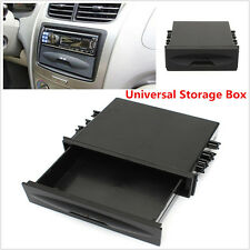 Car Auto Single Din Radio Radio Installation Pocket Kit Storage Box Large Space