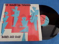 THE MANHATTAN TRANSFER, BODIES, LP, ORIGINAL1983 RELEASE, 78-0104-1