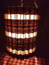 Vintage Hanging Swag Chain Drum Lamp Light