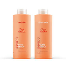 Wella Invigo Nutri Enrich Deep Nourishing Shampoo and Conditioner Duo Litre Pack