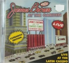 JAMES BROWN & THE FAMOUS FLAMES -LIVE AT THE GARDEN *CD 2PZ NEW SEALED SIGILLATO