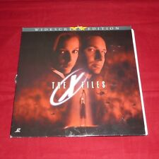 LaserDisc - The X Files Widescreen