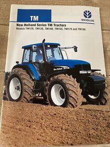 New Holland Series TM Tractors TM120, 130, 140, 155, 175 & TM190 Leaflet