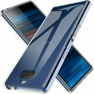 For Sony Xperia 1 5 II 10 III XZ3 XA2 Ultra thin Clear Soft Silicone Case Cover