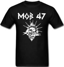 MOB 47 T shirt band Hardcore anarcho Punk Rock Heavy Metal