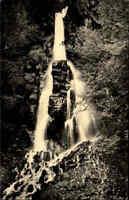 Wasserfall Motiv Postkarte DDR 1960 AK TRUSETAL Thüringen Waterfall River Fall