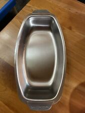 CORDOVA STAINLESS STEEL SOLID 18-8  1969 TRAY