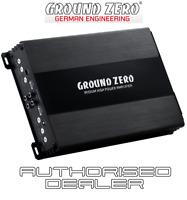 Ground Zero Iridium GZIA 2130HPX-II 2 channel car audio amplifier 2x80w RMS