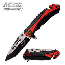 Coltello MTech Tanto Fire Dept Soccorso MTA950RD Knife Messer Couteau Navaja
