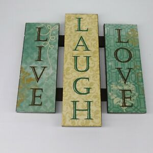 Wooden Live Laugh Love Home Décor Hanging Signs For Sale In Stock Ebay