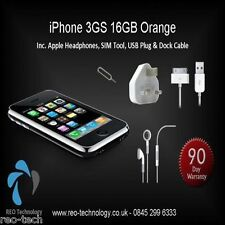 Apple iPhone 3GS - 16 GB - Black (Orange) Smartphone - Free Next Day Delivery