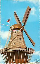 OLD PHOTO POSTCARD Holland MI De Zwaan DUTCH WINDMILL 2