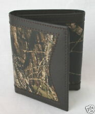MOSSY OAK CAMO LEATHER TRIFOLD BILLFOLD - WALLET