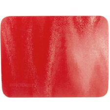 40 CM x 30 CM rosso vetro piano cucina Saver Protector tagliere sottopentola