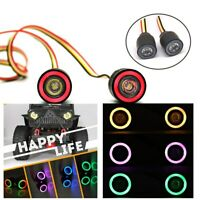 Multiple Colour Colorful Angel Eye Lamp RGB LED Lights with For 1/10 RC Crawler