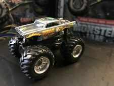 Hot Wheels Monster Jam Truck 1/64 Diecast Metal Base Chrome Avenger