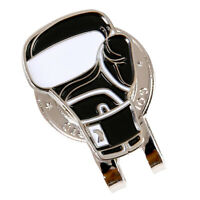 Golf Glove Pattern Hat Clip with Magnetic Golf Ball Marker Golf Cap Clips