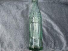 1955 Coca Cola Bottle - Tall 10 oz Green Embossed Hobbleskirt