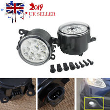 9 LED Front Fog Light DRL Lamps For Ford Fiesta Focus Transit Connect Custom x2