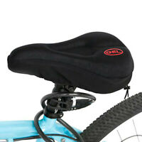 New Wider Bicycle Silicone Cushion Soft Pad Bike Silica Gel Seat Saddle Cover